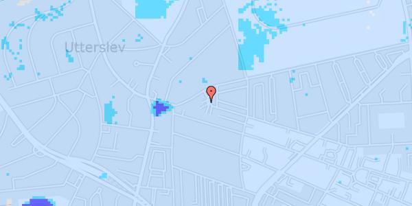 Ekstrem regn på Birkedommervej 89, 1. tv