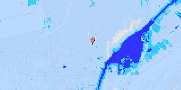 Ekstrem regn på Bispebjerg Bakke 1, 1. 100