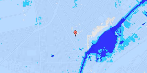 Ekstrem regn på Bispebjerg Bakke 3, 6. 609