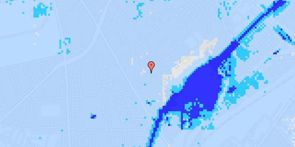 Ekstrem regn på Bispebjerg Bakke 9, 6. 605