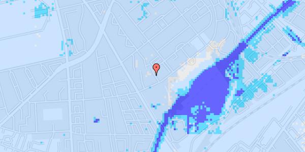 Ekstrem regn på Bispebjerg Bakke 9, 6. 607