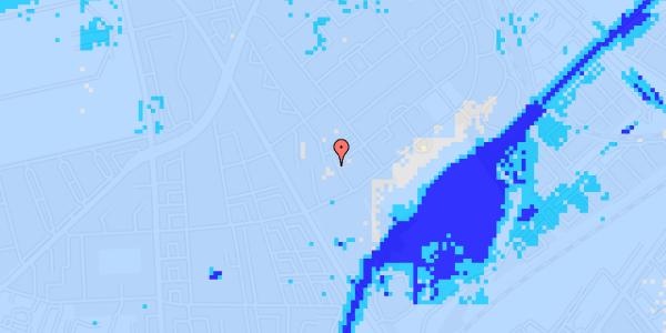 Ekstrem regn på Bispebjerg Bakke 11, 6. 610