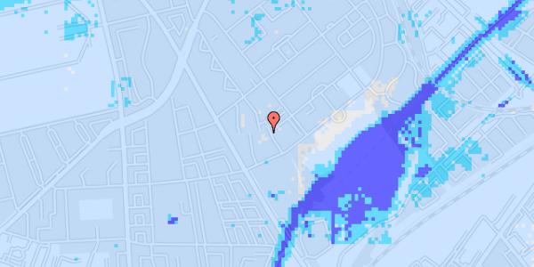 Ekstrem regn på Bispebjerg Bakke 11, 6. 612