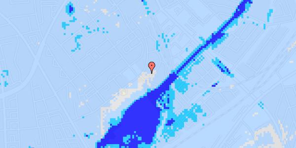 Ekstrem regn på Bispebjerg Bakke 18F, st. tv