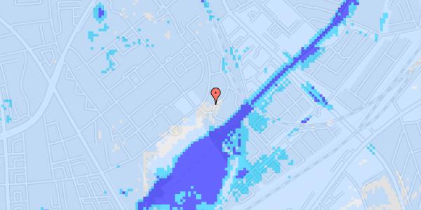 Ekstrem regn på Bispebjerg Bakke 18F, 1. th