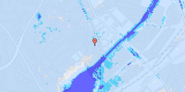 Ekstrem regn på Bispebjerg Bakke 18M, 1. tv