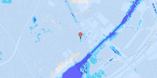 Ekstrem regn på Bispebjerg Bakke 22B, 1. th