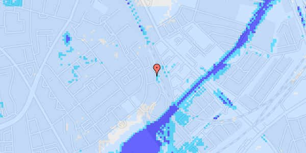 Ekstrem regn på Bispebjerg Bakke 22B, 2. th