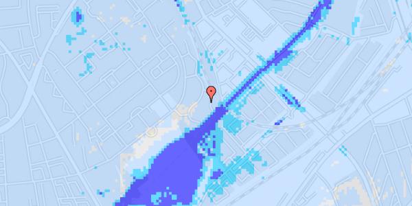 Ekstrem regn på Bispebjerg Bakke 26B, 1. th