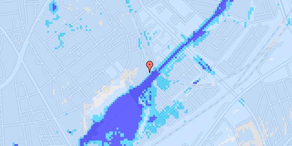 Ekstrem regn på Bispebjerg Bakke 26C, st. th