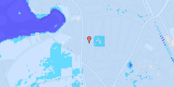 Ekstrem regn på Bispebjergvej 69, 2. tv