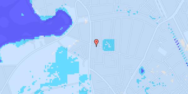Ekstrem regn på Bispebjergvej 71, st. tv