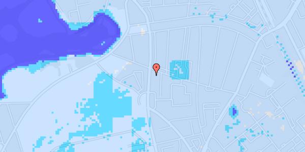 Ekstrem regn på Frederiksborgvej 156A, 2. tv