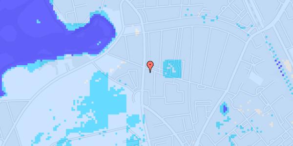 Ekstrem regn på Frederiksborgvej 156B, 1. th