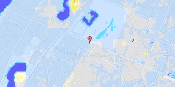 Ekstrem regn på Gothersgade 95, 1. th