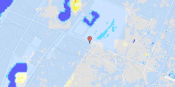 Ekstrem regn på Gothersgade 97, kl.