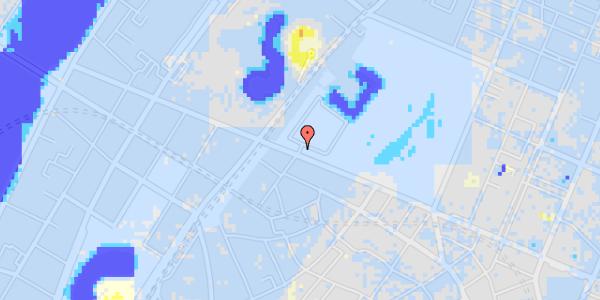 Ekstrem regn på Gothersgade 100, 1.