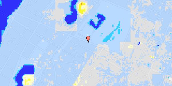 Ekstrem regn på Gothersgade 109, 2. tv