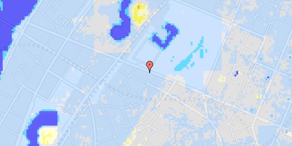 Ekstrem regn på Gothersgade 109, 3. tv