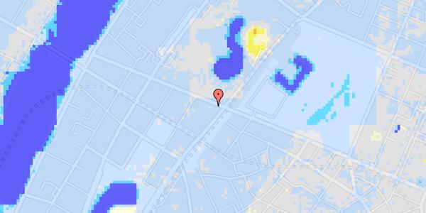 Ekstrem regn på Gothersgade 129, 1.