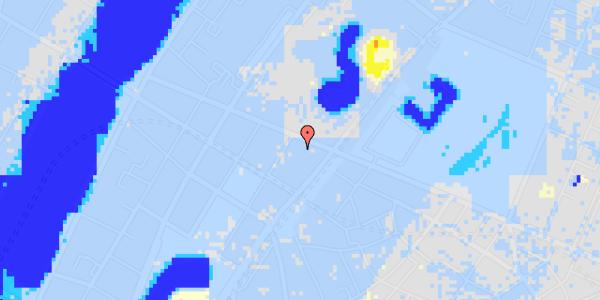 Ekstrem regn på Gothersgade 135A, st.