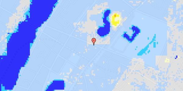 Ekstrem regn på Gothersgade 135, kl. th