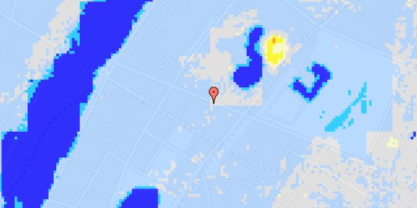 Ekstrem regn på Gothersgade 137, 5. th
