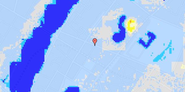 Ekstrem regn på Gothersgade 145, 3.