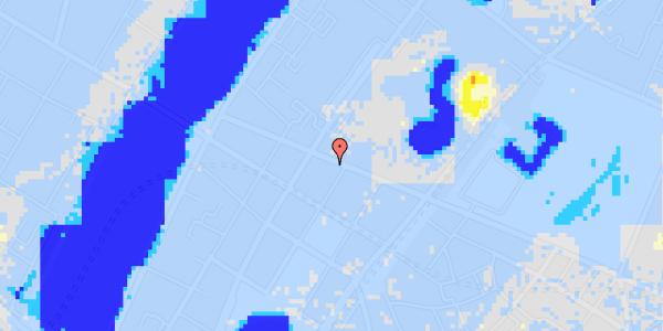 Ekstrem regn på Gothersgade 147, 5. th