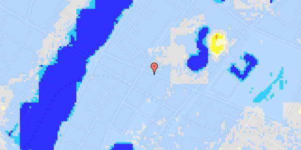 Ekstrem regn på Gothersgade 149, 3.