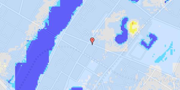 Ekstrem regn på Gothersgade 153, 1.