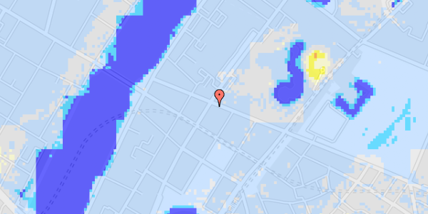 Ekstrem regn på Gothersgade 153, 4.