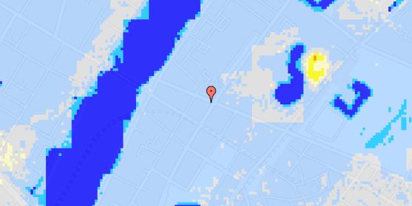 Ekstrem regn på Gothersgade 155, 2. th