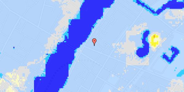 Ekstrem regn på Gothersgade 158A, 3. 1
