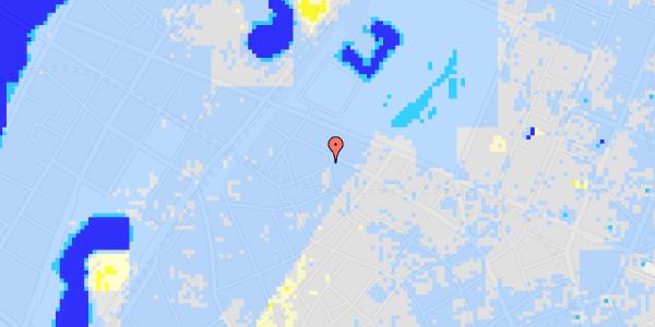 Ekstrem regn på Hauser Plads 24, 2. tv