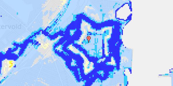 Ekstrem regn på Kastellet 54, 2. 344