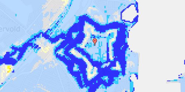 Ekstrem regn på Kastellet 62, 1. 204