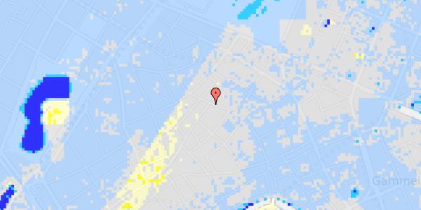 Ekstrem regn på Købmagergade 47, 1.
