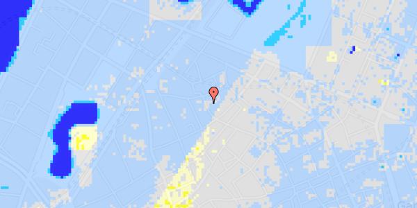 Ekstrem regn på Købmagergade 62, st. 2