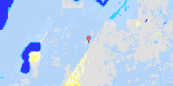 Ekstrem regn på Købmagergade 62, 2.