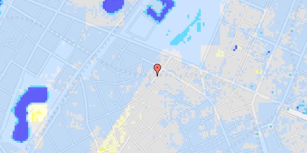 Ekstrem regn på Landemærket 25, 3. th