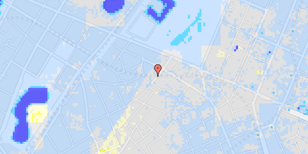 Ekstrem regn på Landemærket 25, 4. th