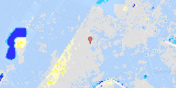 Ekstrem regn på Løvstræde 4B, 3.