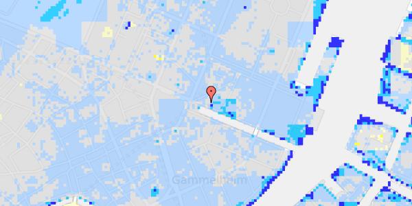 Ekstrem regn på Nyhavn 5, kl.