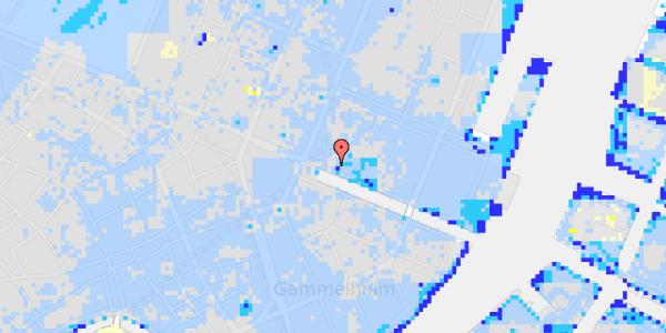 Ekstrem regn på Nyhavn 7, kl.