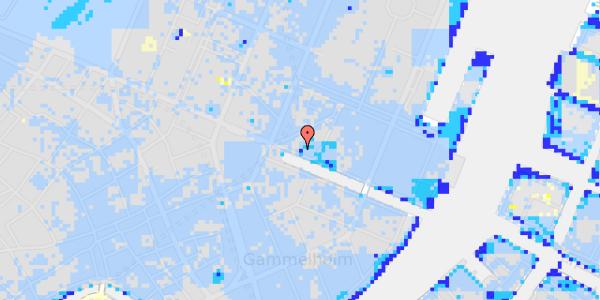 Ekstrem regn på Nyhavn 9, 1.