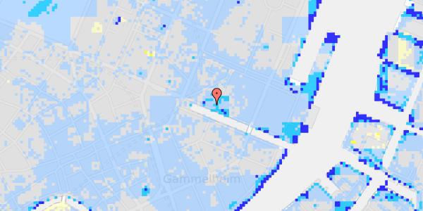 Ekstrem regn på Nyhavn 17, kl. th