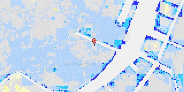 Ekstrem regn på Nyhavn 18A