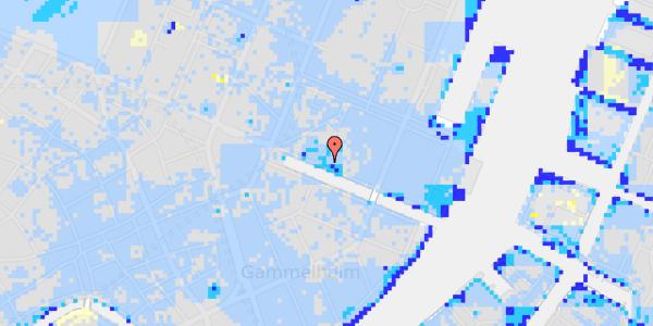 Ekstrem regn på Nyhavn 21, 1. mf