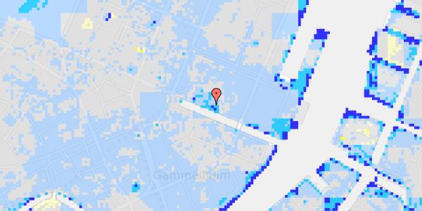 Ekstrem regn på Nyhavn 23, 2.